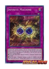 Infinite Machine - BLRR-EN028 - Secret Rare - 1st Edition