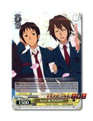 Kyon & Koizumi [SY/WE09-E01 C (FOIL)] English