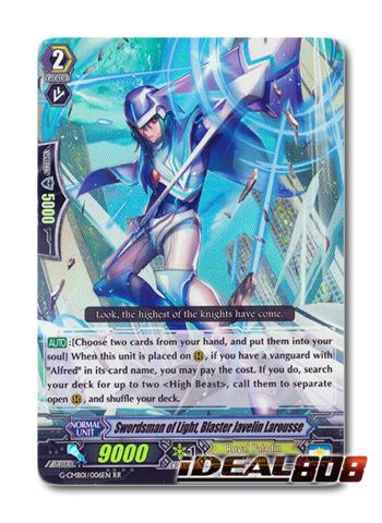 Swordsman of Light, Blaster Javelin Larousse - G-CMB01/006EN - RR