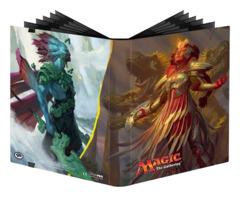Magic the Gathering Rivals of Ixalan Ultra Pro 9-Pocket Album - Kumena, Tyrant of Orazca & Huatli, Radiant Champion (#86664)