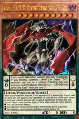Go! - D/D/D Divine Zero King Rage - Ultra Rare - YA07-EN001 - Limited Edition