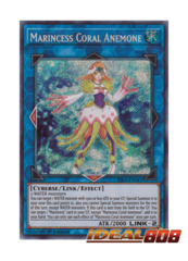 Marincess Coral Anemone - RIRA-EN041 - Secret Rare - 1st Edition