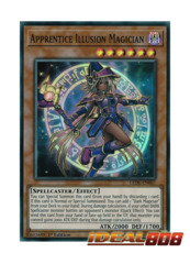 Apprentice Illusion Magician - LED6-EN007 - Super Rare - 1st Edition