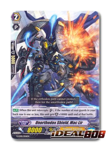 Unorthodox Shield Mac Lir - G-LD01/006EN - TD