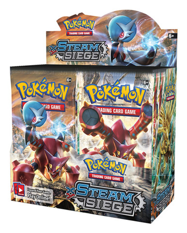 XY Steam Siege Pokemon Booster Box