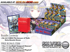 CFV-V-EB04  Bundle (B) Silver - Get x6 The Answer of Truth Cardfight Vanguard Booster Box + FREE Bonus Items