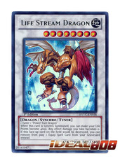 Life Stream Dragon - EXVC-EN038 - Ultra Rare - 1st Edition