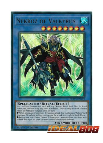Nekroz of Valkyrus - DUPO-EN089 - Ultra Rare - 1st Edition