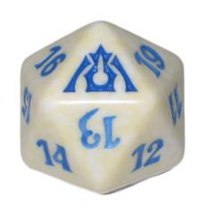 MTG Spindown 20 Life Counter - Dragon's Maze (Azorius - White/Blue)