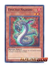 Evoltile Najasho - ORCS-EN083 - Super Rare - 1st Edition