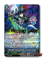Vampire Princess of Night Fog, Nightrose - G-TD08/004EN - RRR (Gold Foil/Hot Stamp)