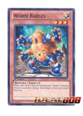 Worm Barses - BP01-EN201 - Common - 1st Edition