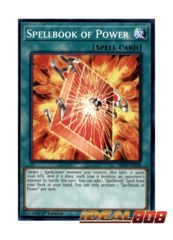 Spellbook of Power - SR08-EN028 - Common - 1st Edition
