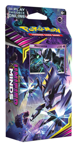 SM Sun & Moon - Unified Minds (SM11) Pokemon Theme Deck - Necrozma