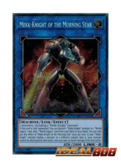 Mekk-Knight of the Morning Star - CYHO-EN045 - Secret Rare - Unlimited Edition