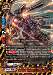 Jet Black Typhoon, Tyrant Cerberus [S-BT06/0026EN R (FOIL)] English
