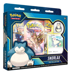 Pokemon TCG: Snorlax Pin Collection * PRE-ORDER Ships Apr.03