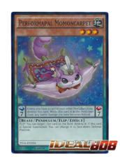 Performapal Momoncarpet - YS16-EN004 - Super Rare - 1st Edition