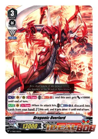 Dragonic Overlord - V-TD02/002EN (Regular)