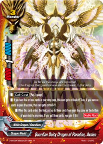 Guardian Deity Dragon of Paradise, Avalon [D-BT02A-EB03/0013EN R (FOIL)] English
