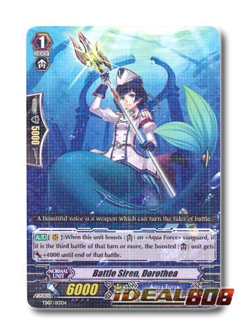 Battle Siren, Dorothea - TD07/013EN - TD (Rare ver.)