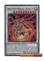 Dragunity Knight - Ascalon - CYHO-EN033 - Ultra Rare - 1st Edition