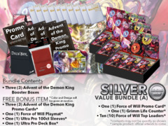 Force of Will Bundle (A) Silver - x 3 Advent of the Demon King + FREE Bonus