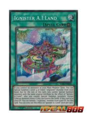 Ignister A.I.Land - IGAS-EN050 - Secret Rare - 1st Edition