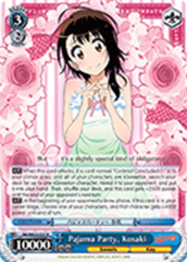 Pajama Party, Kosaki [NK/WE22-E27SP SP (SIGNED FOIL)] English