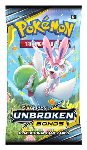SM Sun   Moon - Unbroken Bonds (SM10) Pokemon Booster Pack   PRE ... 1d727f3fd