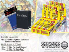Cardfight Vanguard G-FC04 Bundle (B) Silver - Get x6 Fighters Collection 2017 Booster Box + FREE Bonus Items