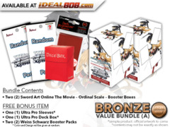 Weiss Schwarz SAO Bundle (A) Bronze - Get x2 Sword Art Online The Movie – Ordinal Scale – Booster Boxes + FREE Bonus * PRE-ORDER