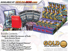 CFV-V-EB04  Bundle (C) Gold - Get x8 The Answer of Truth Cardfight Vanguard Booster Box + FREE Bonus Items