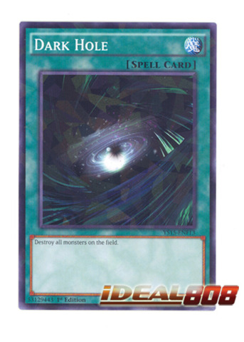 Dark Hole - YS15-ENF13 - Shatterfoil - 1st Edition