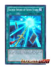 Sacred Sword of Seven Stars - LTGY-EN066 - Super Rare - 1st