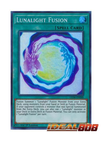 Lunalight Fusion - LED4-EN048 - Super Rare - 1st Edition