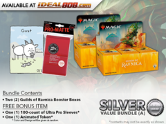 MTGGRN Bundle (A) Silver - Get x2 Guilds of Ravnica Booster Box + FREE Bonus Items * PRE-ORDER Ships Oct.05