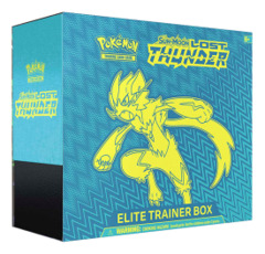 SM Sun & Moon - Lost Thunder (SM08) Pokemon Elite Trainer Box * PRE-ORDER Ships Oct.29