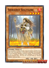 Shiranui Solitaire - SR07-EN018 - Common - 1st Edition