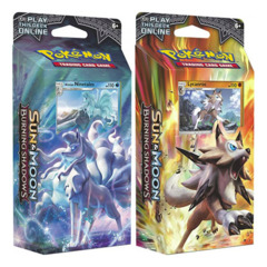 SM Sun & Moon - Burning Shadows (SM03) Pokemon Theme Deck Set - Lycanroc & Alolan Ninetales