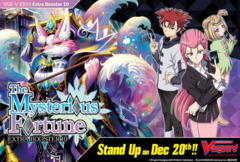 CFV-V-EB10 The Mysterious Fortune (English) Cardfight Vanguard V-Extra Booster Box [12 Packs] * PRE-ORDER Ships Dec.20