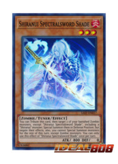 Shiranui Spectralsword Shade - SAST-EN017 - Super Rare - Unlimited Edition