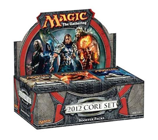 Magic 2012 Core (M12) Booster Box