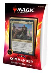 Commander 2020: Ikoria: Deck - Ruthless Regiment (White/Red/Black) feat. Jirina Kudro