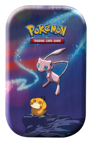 Kanto Power Pokemon Mini Tin - Mew / Psyduck