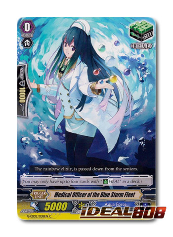 Medical Officer of the Blue Storm Fleet - G-CB02/038EN - C