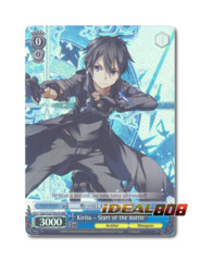 Kirito - Start of the Battle [SAO/S20-TE07R RRR (FOIL Trial Deck)] English