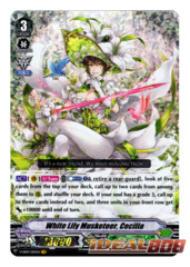 White Lily Musketeer, Cecilia - V-EB03/003EN - VR