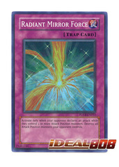 Radiant Mirror Force - FOTB-EN055 - Super Rare - 1st Edition