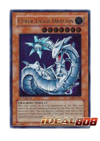 Cyber Laser Dragon - SOI-EN007 - Ultimate Rare - 1st Edition